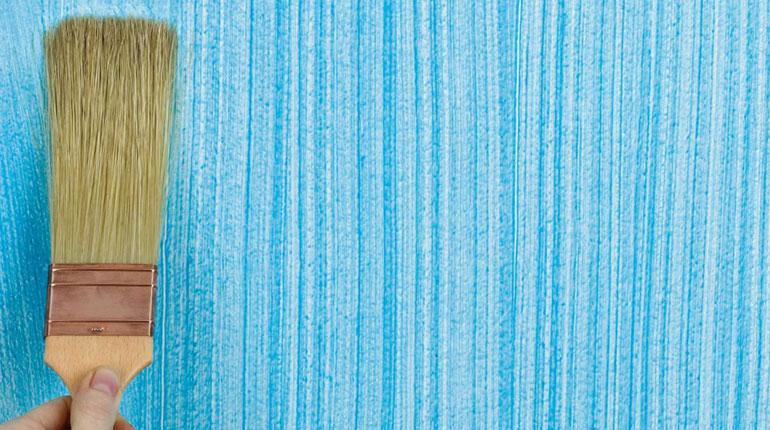 поверхность покрашенная акриловой краской