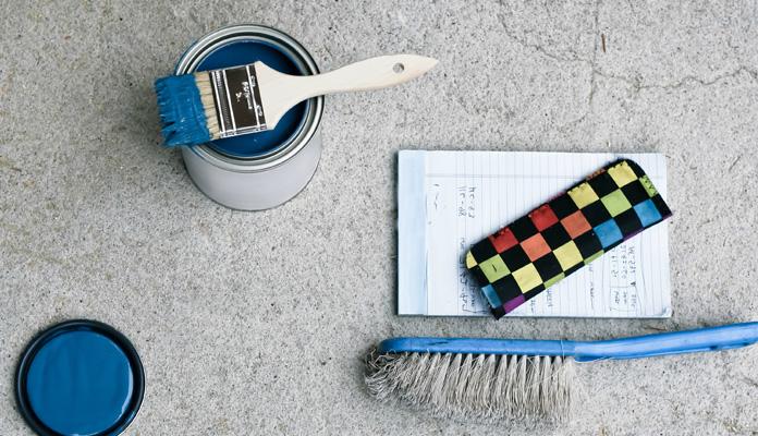 чем можно покрасить бетон
