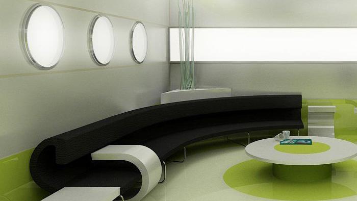 космический интерьер офиса