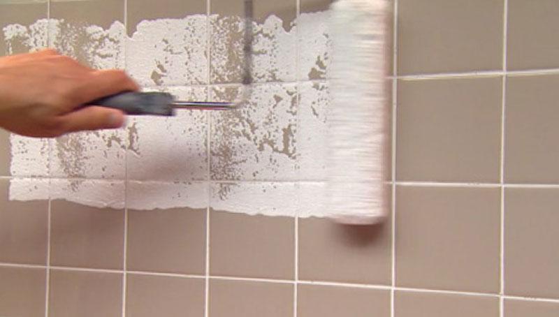кафельная плитка vs водостойкая краска